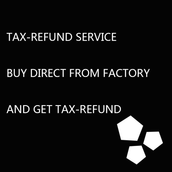 The Export Tax Rebate Agent, Tax Refund Service, Buy Direct From Factory and Get Tax Refund pictures & photos