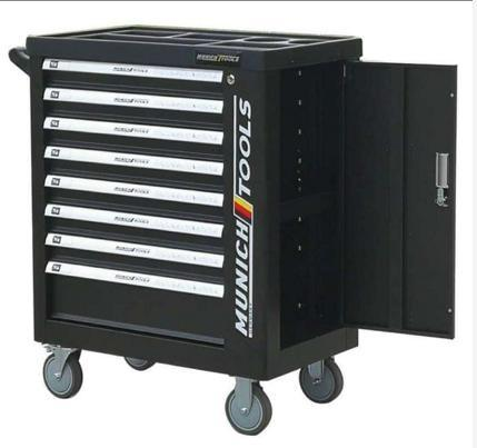 284PCS Tool Set with 8drawers Tool Cabinet (FY284A)