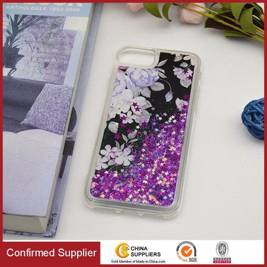 3D Liquid Quicksand Flowing Glitter Protective Case for Samsung S9