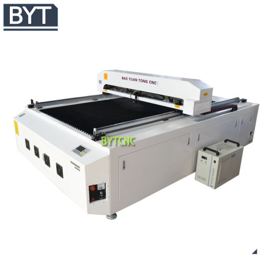 Bytcnc Custom Embroidery Laser Cutting Machine 60W 80W 100W for Leather/Glass/Rubber