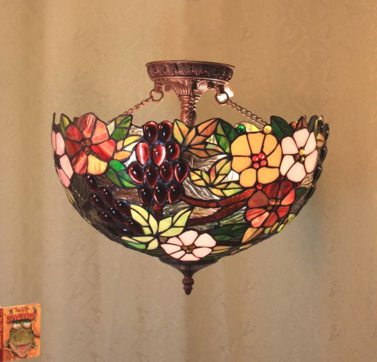 Tiffany Close Ceiling Lamp (CLC-Series)