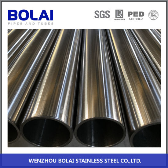 304L ASTM312 Sanitary Pipe Seamless Stainless Steel Tube