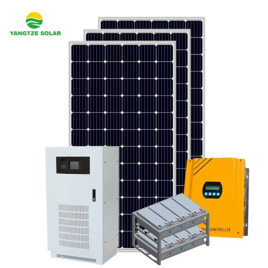 Hot Sale off Grid Solar Power Systemn 20kw for Home AC