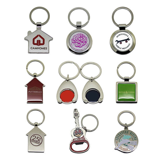 Personalized Sublimated /& Engraved Key Chain Wedding gifts Business /& More!
