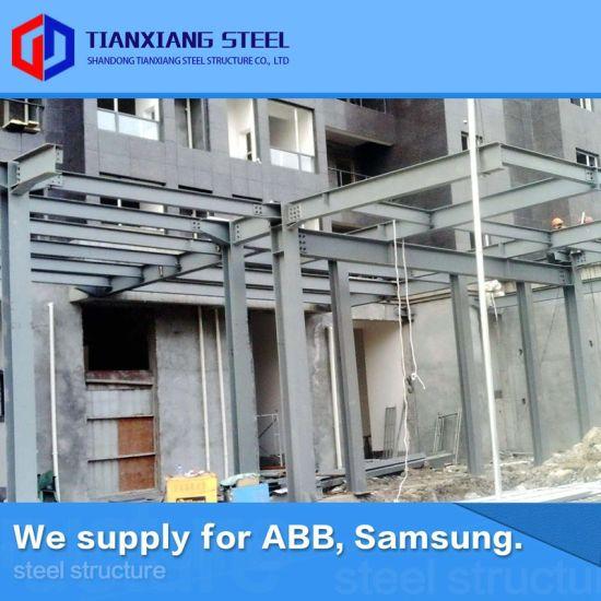 Perfect Design Q235 Q345b Steel Building Garage