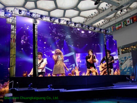 Ckgled P2.6/P2.9/P3.91 Indoor/Outdoor LED Display Rental LED Panel Screen