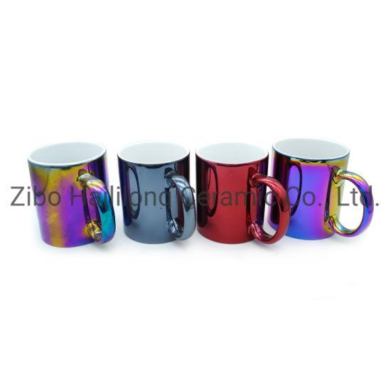 11oz Shining Colored Ceramic Mugs
