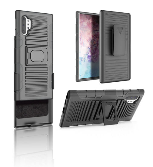 for Samsung Galaxy Note 10 PRO Case Anti-Scratch Anti-Drop TPU PC Belt Clip Phone Cases pictures & photos