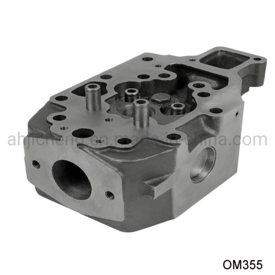 Diesel Engine Parts for Mercedes Benz Om355 Cylinder Head pictures & photos