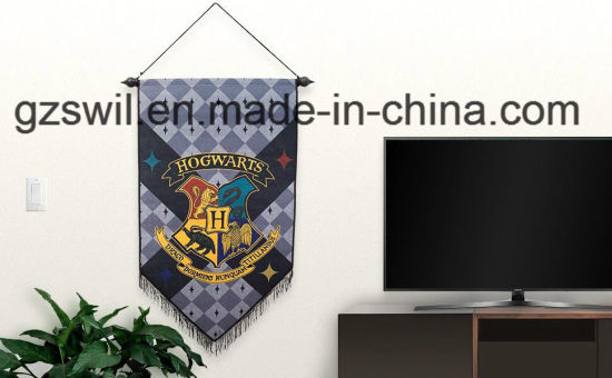 Fashion Digital Printing Exhibition Promotion Display Decoration Custom Felt Flag Banner