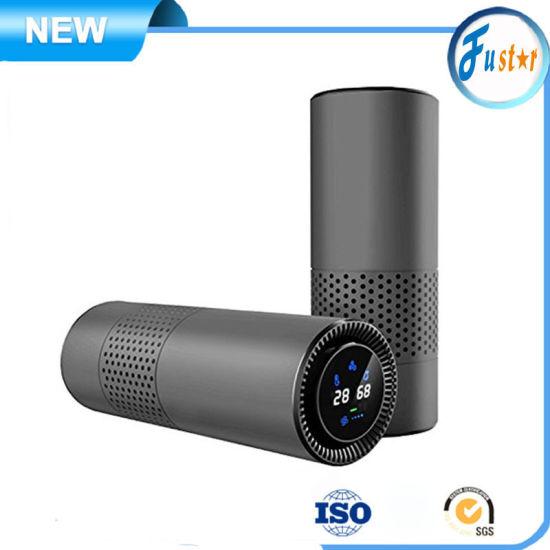 Gesture Control 4in1 Metal Materials Portable UV HEPA Filter Desktop Air Conditioner / Purifier
