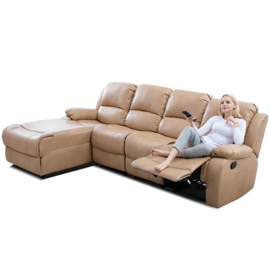Italia Leather Furniture Kino Power Reclining Home Cinema Room Sofa