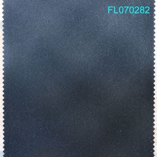 Supplier PU Decoration Flocking Leather Thickness 0.9mm for Shoes Material Made in Weznhou