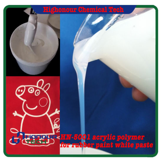 Water Based Screen Printing Pigment Paste Polymer