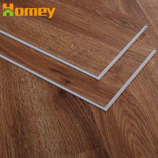 China High Quality Wood Plastic Material Spc Click Pvc Vinyl Plank