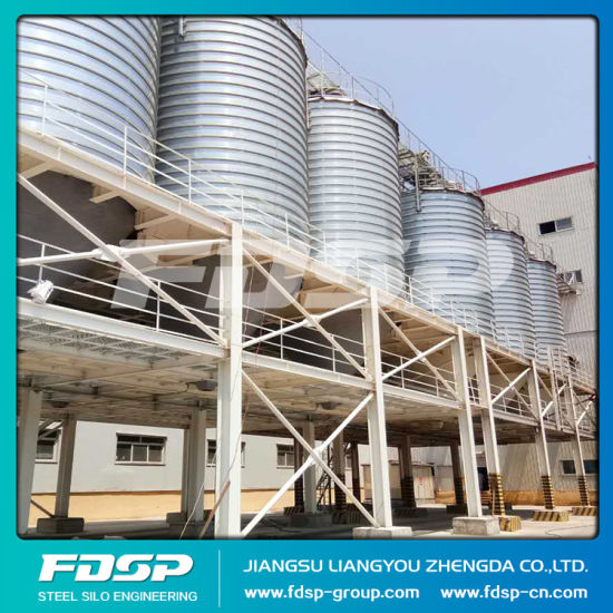 Top Leading Manufacture Grain Storage Steel Silo System pictures & photos