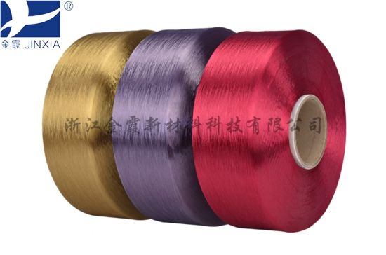 FDY Dope Dyed 600d/192f Filament Polyester Yarn pictures & photos