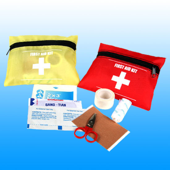 Ce, ISO, FDA Personal Travel Nylon First Aid Kit # Kbg-A025
