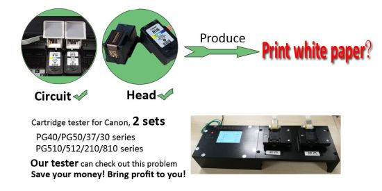 New Products Circut Tester for Canon Empty Cartridge Pg240 Cl241 Pg540 Cl541