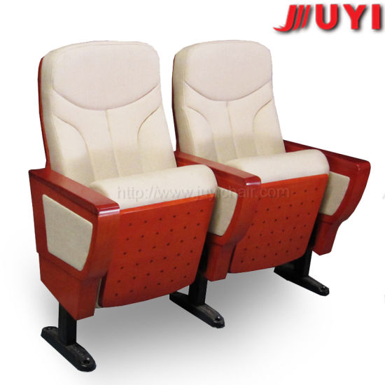 Jy 999d Waiting Cinema Seat for Sale Stadium Meeting Movie Used Hot Selling Conference Church Theater Chair Cover Fabric