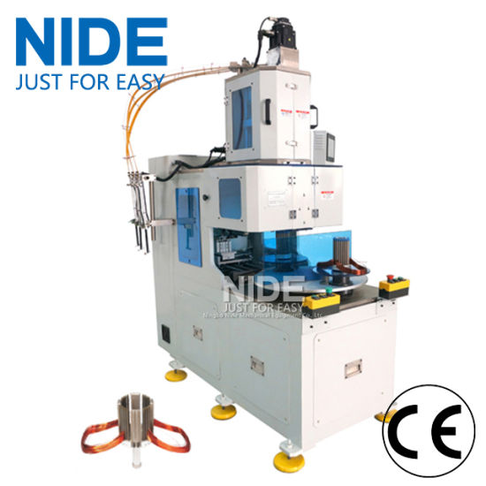Automatic Single Phase Motor Vertical Type Stator Coil Winding Machine pictures & photos