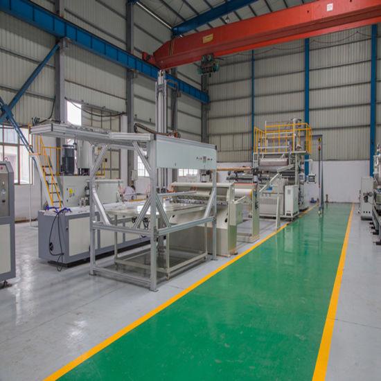 PVC Imitation Marble Sheet Extrusion Line/Making Machine