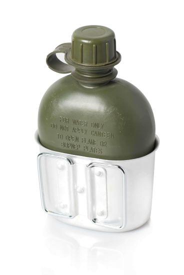 Deekon Us Army Military Outdoor Drinking Canteen Water Bottle