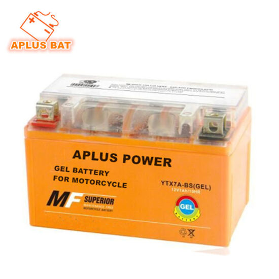 Wholesale Ytx7a-BS 12V 7ah Rechargeable Gel Batteries for Motorcycle