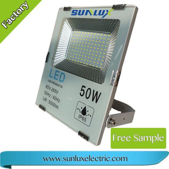 Factory Wholesale 50W 4500lm PF 0.9 SMD LED Flood Light