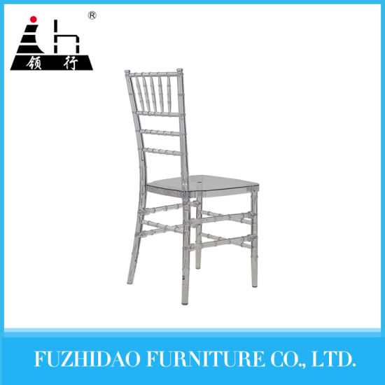 china wholesale white aluminum wedding chiavari tiffany chair for
