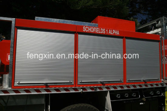 Aluminum Alloy Fire Related Roller Shutter Door Fire-Fighting Truck Slide Door