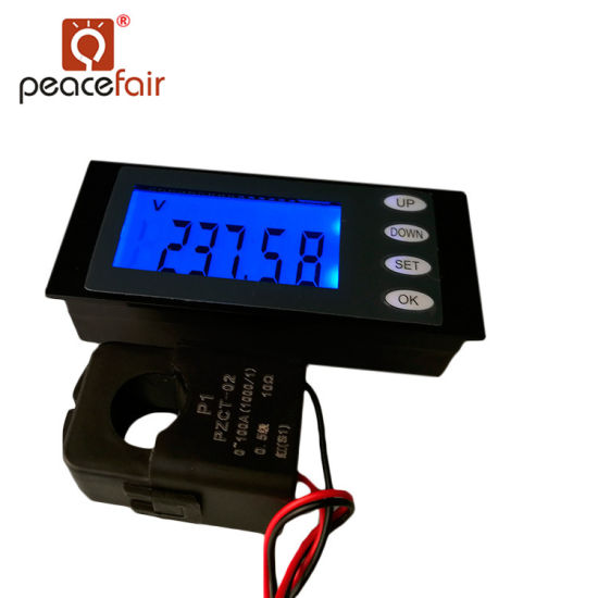 Pzem-006 AC 80-260V 100A 5in1 Voltage Current Power Energy Digital Voltmeter Ammeter