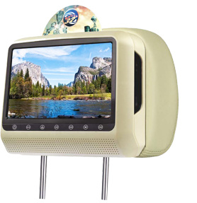 9 Inch Slot in Car Headrest Combo DVD with Media Player Car Audio pictures & photos