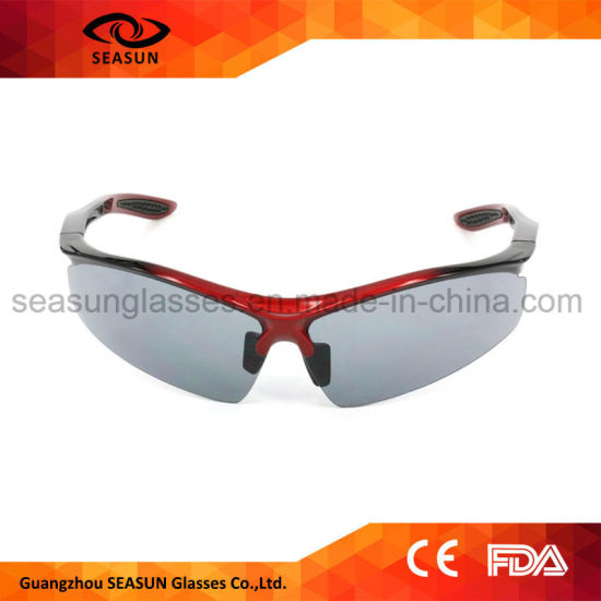 8e67100b0b5 Custom Tac Polarized UV400 Protective Bicycle Sunglasses Polar Glare High  Vision Outdoor Sport Sunglasses