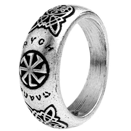 China Valknut Odin S Slavic Symbol Of Norse Viking Ring Christmas