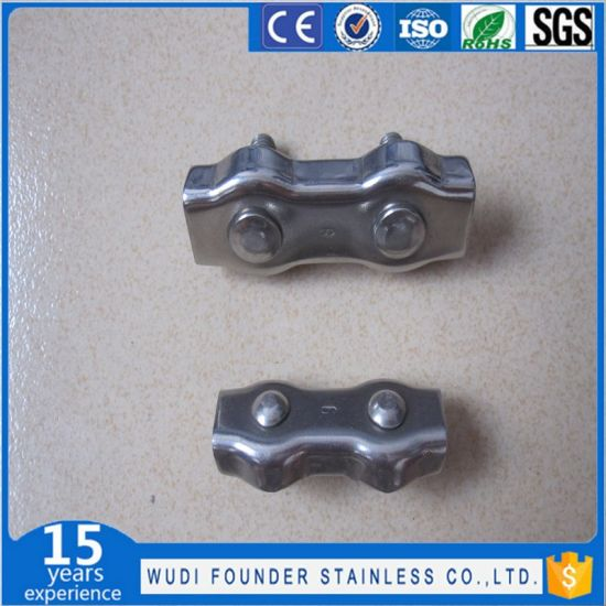 China Rigging Hardware Stainless Steel Duplex Wire Rope Clips ...