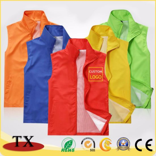 2020 High Quality and Hot Selling Waterproof Advertising Vest pictures & photos