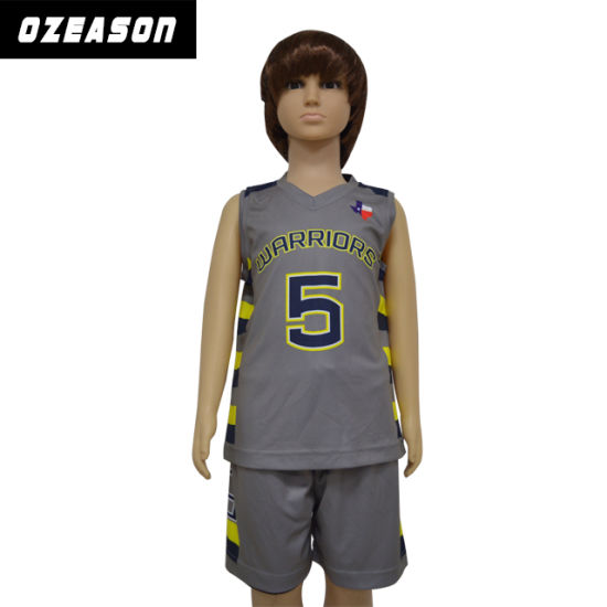 6395eca5a Guangzhou Ozeason Wholesale Custom Sublimation Dry Fit Kids Basketball  Jersey pictures   photos