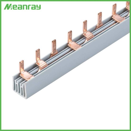 3p Insulated Pin Type Busbar/Flexible Bus Bar with Ce RoHS ISO900 Certificate for MCB