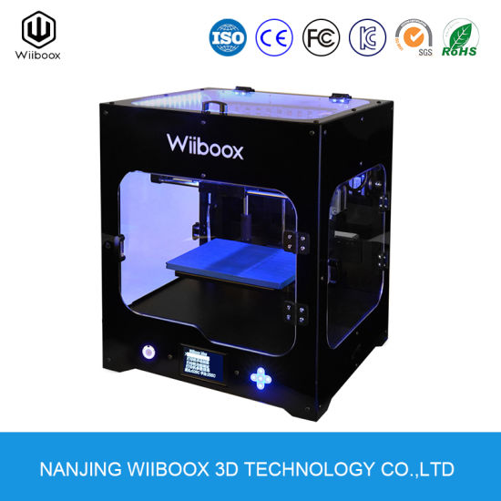 Wiiboox One Mini High Accuracy Multi Functional DIY Educational Desktop 3D Printer pictures & photos