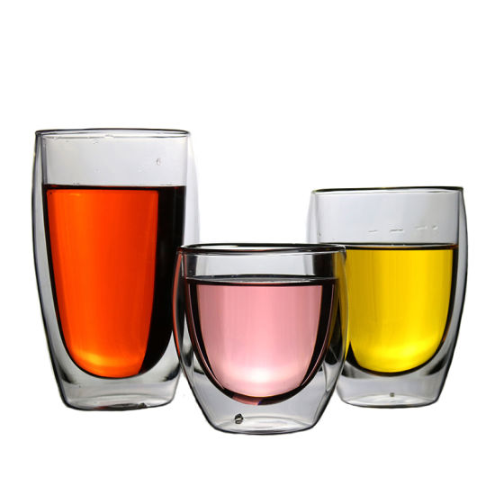 Best Price Glass Double Layer Water Cup