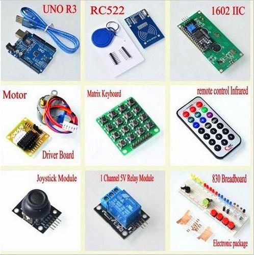 New! Super Mega 2560 Starter Learning Kit for Arduino 1602LCD RFID Relay  Motor Buzzer-Arduino Kits