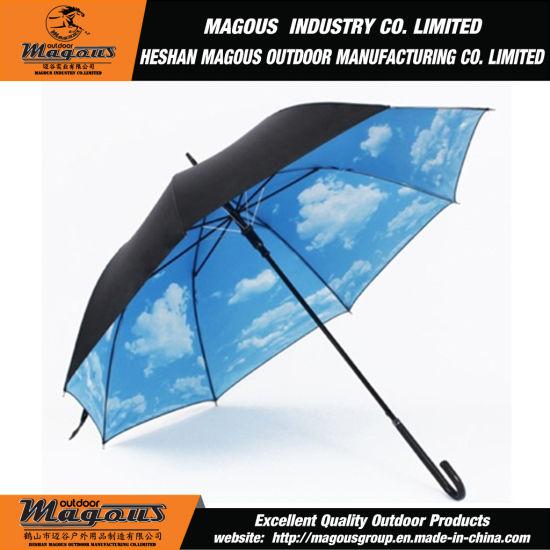 cb99a66b1a789 China Blue Sky 23inch Straight Umbrella - China Straight Umbrella ...