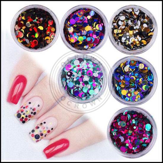 China Unicorn Acrylic Nails - Glitter Decoration with 3D Nail Art ...
