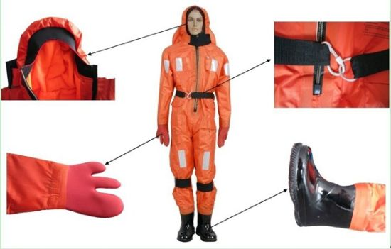 Marine Safety Products Life Jacket And Immersion Suit