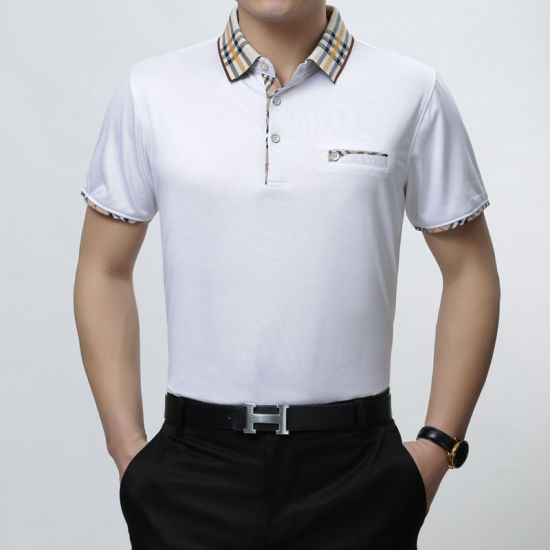 8729afdf8 China Very High Quality 100% Cotton Polo Shirt with Embroidery Logo ...
