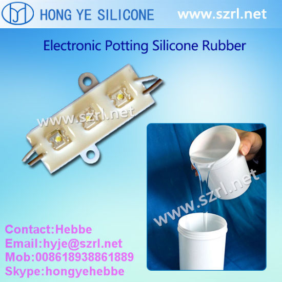 Electronic Potting Compound Silicone Rubber for The Surface of PP