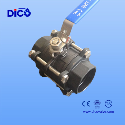 Carbon Steel 3PC Ball Valve (Q11F) pictures & photos