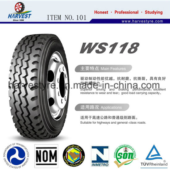 Wosen Brand All-Steel Radial Truck & Bus Tyres pictures & photos
