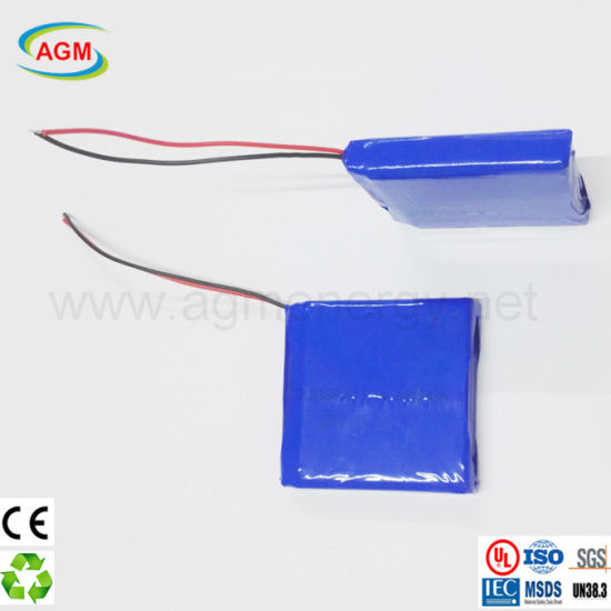 Factory Custom Pl066060 3.8V 6000mAh Lipo Lithium Battery